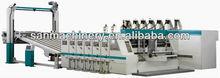 Caja de corrugado máquina de impresión Slotter y Cartón presión máquina de corte