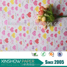 high quality flame retardantfresh flower wrapping paper