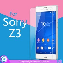Screen Saver Tempered Glass Protective Film for Sony Xperia Z3