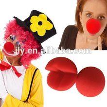Circo trajes accesorios/divertida nariz/niños trajes de payaso