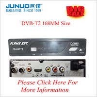 High Quallity 2015 Ali 3812 Chipset DVB- T2 TV Decoder TV Transmitter TV Terrestrial Receiver For India