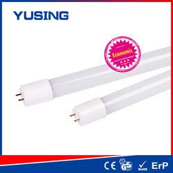 China mainland 9w/12w/18w/24w AC85-265V 100lm/w led tube light t8 nbf