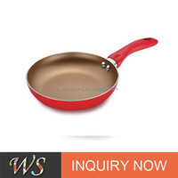 WS-DA258 High quality Gold-plated Frying pan
