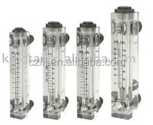DFG-6T high accuracy and Panel glass rotameter clean water flow meter