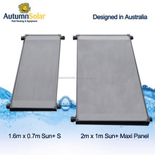 15 years lifespan solar heating panels for pool water
