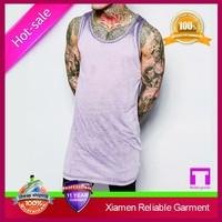 Best quality cheap good selling stringer vest gym custom by OEM Manufacturer