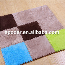 Best selling fashion plaid design outdoor polypropylene mat