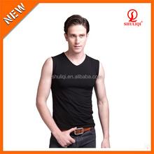 Custom summer black solid color tank top wholesale