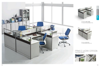 2015 Wholesale office screen office workstation standard office furniture dimensions HC-AB897