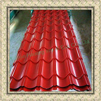 Supply High Quality steel roofing shingle