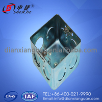 Extension Electrical Main 75*75*47 Carbon Steel Metal Switch Box