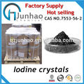 Fuente de la fábrica de yodo puro cristales 7553-56-2