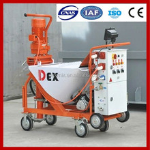 2014 BEST SALE N5 automatic wall cement mortar pump, mortar spraying machine