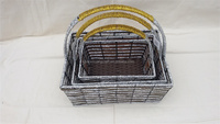 Christmas Home Decorative Storage Basket with 3 sets