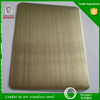 china supplier 304 / 201 Gold Mirror Stainless Steel Sheet