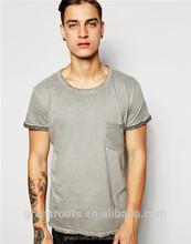 Hot sale plain t shirts design for men , 100% cotton design your own t shirts