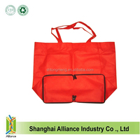 Cheap Polyester Custom Folding Tote Shopping Bags