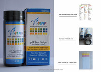 GRF 5.5 to 9.0 pH dirui Test Strips with Two Color.