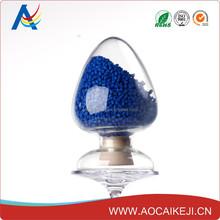 China Plastic Dye PE/PP/PS/ABS/PET/PERT Royal Blue Masterbatch for Pipe/Bag/Film