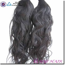 Natural Color Can be Dye Human Hair hair attachment and weaving