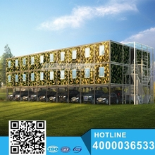 ios9001 beautiful Prefabricated apartments building for sale