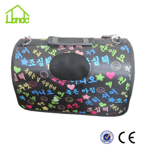 Wholesale outdoor polyester travel pet carrier bag Pet Carrier for dog popular dog carrier