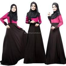wholesale 2015 ankle length ladies long sleeve morocco muslim kaftan evening dress cheap abaya