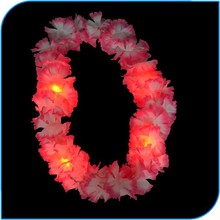 2015 Party Decoration Good Quality Led Hawaii Lei For Beach Party
