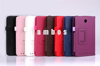 Premium Magnetic Folding Flip PU Leather Cover Case Stand 7 inch Tablet PC Cases for Asus Me173X