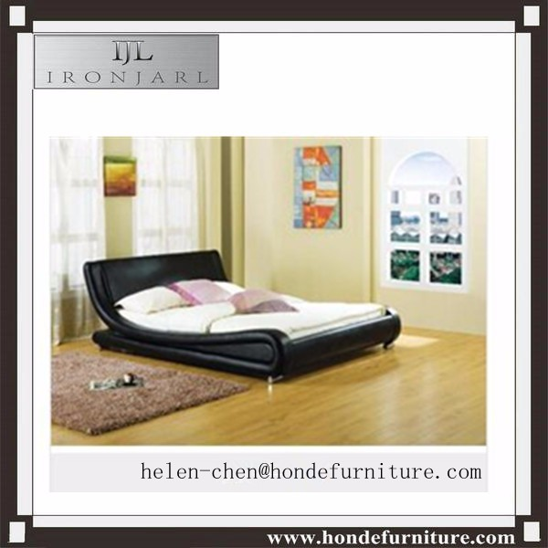 leather bed bedroom bed furniture leather bed cheap black leather bed