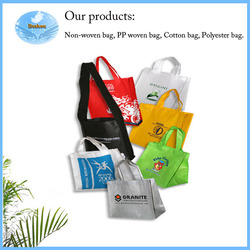 Full Printing Lovely Shopping bag colorful non woven bag