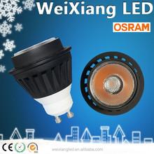 2015 best seller MR16 Osram led spotlight 7W led spotlight CE ROHS SAA approval