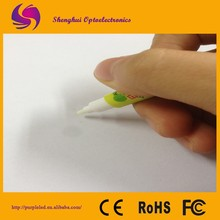 Permanent invisible ink UV marker pen with UV led torch light
