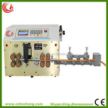 automatic multi color el wire stripping machine cable stripping machine