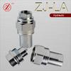 "ZJ-LA high quality 1/4""JIC/NPT trailer hydraulic quick release screw coupling"