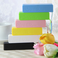Battery chargers portable power bank charge 2600mah for any brand smartphones