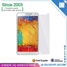 Mobile phone tempered glass screen protector for Samsung galaxy note 3 n9000