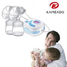 KAREADO Baby supplies comfort silicone electric breast pump nipple suction