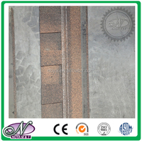 Cheap building materials coloured glaze cheap asphalt shingles price made in China