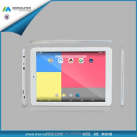 9.7inch Tablet pc with retina display 2048*1536pixel panel,quad core RK3288,2GB/16GB,2.0MP/5.0MP cameras,8000mah battery
