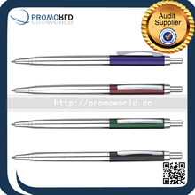 Small Business Ideas Plastic Ball Point Pen Metal Ballpoint Pen