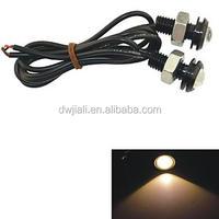 12V 1.5W 18MM Auto Car LED Eagle Eye DayTime Running Light Reverse 12v led battery charge indicator