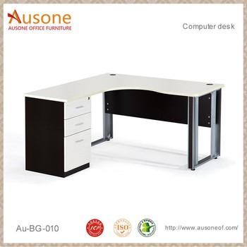 modern melamine simple fancy desktop computer desk table