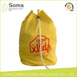 Popular promotional wholesale cotton drawstring bags