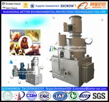 United Nations Project Used Medical Incinerator 30~500kg/batch Diesel Hospital Waste Incinerator