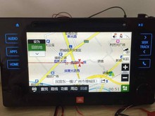 gps navigation box and rear camera interface for toyota Sienna