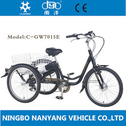 2015 pedelec adult tricycle wholesale/Cheap electric cargo bike