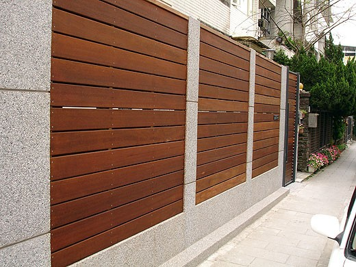 Wood Composite Panel : Wpc factory fence panel wood plastic composite