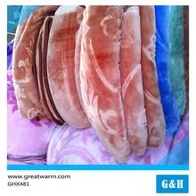 Pattern Big Flower printed Polar Fleece fabric for Blanket stock