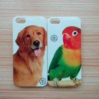 Factory wholesale IMD/IML case for iphone 5/5s PC case with custom design logo
